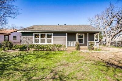 Dallas Single Family Home For Sale: 6529 Wofford Avenue