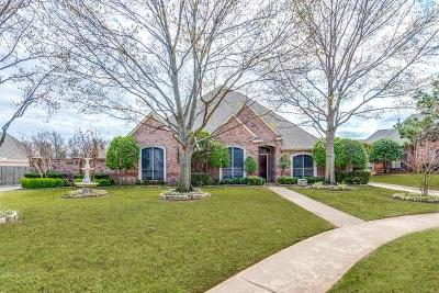 Colleyville Single Family Home Active Option Contract: 1301 Caldwell Creek Drive