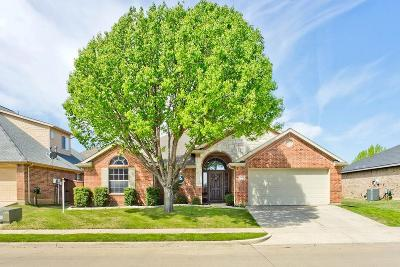 Denton Single Family Home For Sale: 9804 Lakeway Drive