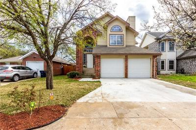 Fort Worth Single Family Home For Sale: 7544 Arbor Hill Drive