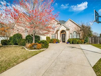 Frisco Single Family Home Active Contingent: 11724 Creek Point Drive