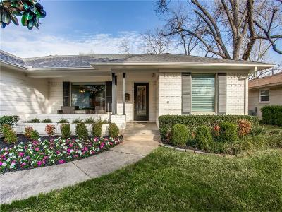 Dallas Single Family Home For Sale: 6709 Braeburn Drive