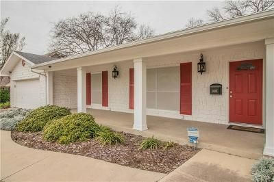 Benbrook Single Family Home For Sale: 8120 Bangor