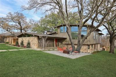 Dallas Single Family Home For Sale: 9706 Parkford Drive