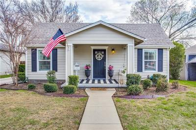 Fort Worth Single Family Home For Sale: 4733 Birchman Avenue