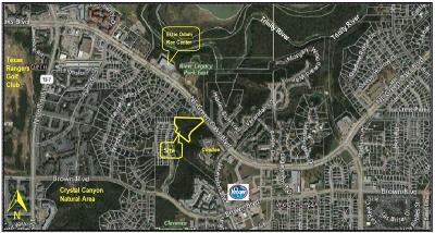 Tarrant County Residential Lots & Land For Sale: 1800 NE Green Oaks Boulevard