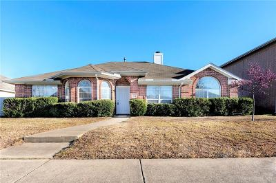 Allen Single Family Home For Sale: 1521 High Country Lane