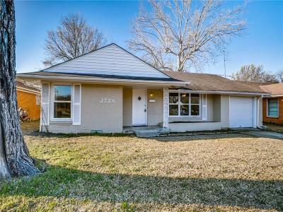Dallas Single Family Home For Sale: 2728 Oates Drive