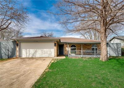 Euless Single Family Home Active Option Contract: 409 Sixpence Lane
