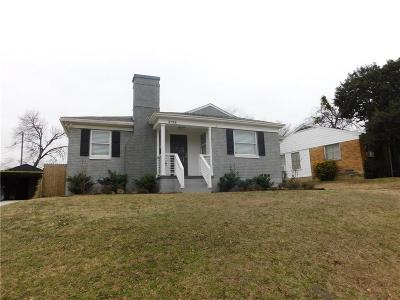 Dallas County Single Family Home For Sale: 2716 Avon Street