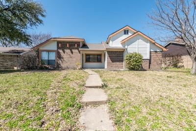 Mesquite Single Family Home For Sale: 2707 Poteet Drive