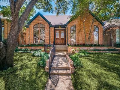 Dallas County Single Family Home For Sale: 7239 Lane Park Drive