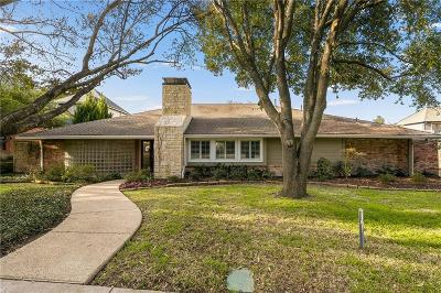 Dallas Single Family Home For Sale: 7406 Craigshire Avenue