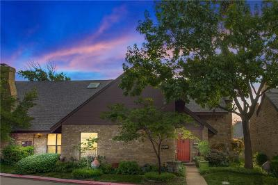 Fort Worth Townhouse For Sale: 4227 Brook Tree Drive