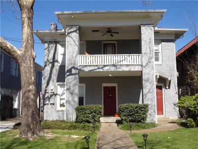 Dallas County Multi Family Home For Sale: 4511 Swiss Avenue