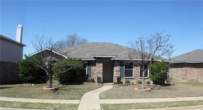 Rockwall Single Family Home For Sale: 1496 Stewart Drive