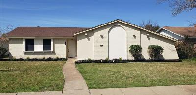 Garland Single Family Home For Sale: 1809 Mission Drive