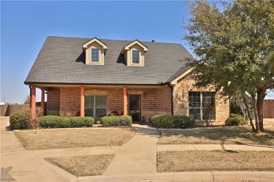 Abilene Single Family Home Active Option Contract: 502 Beretta Drive