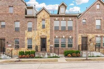 Collin County, Denton County Townhouse For Sale: 4248 Charles Road #B8