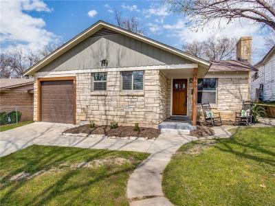 Dallas, Fort Worth Single Family Home For Sale: 3466 Whittier Street