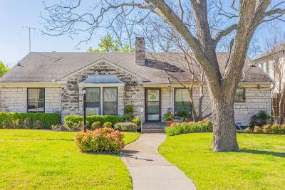 Highland Park, University Park Single Family Home For Sale: 3213 Northwest Parkway