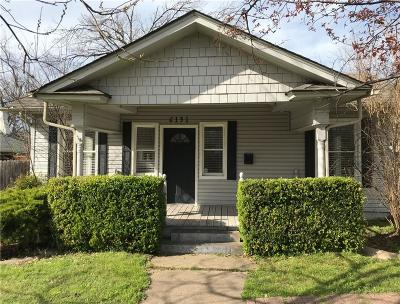 Dallas Single Family Home For Sale: 6151 Richmond Avenue