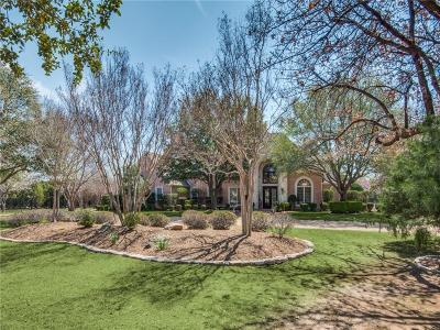 Flower Mound Single Family Home For Sale: 5801 Shorefront Lane