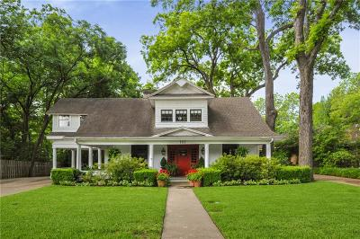 Waxahachie Single Family Home For Sale: 707 W Marvin Avenue