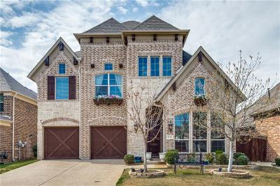 The Colony Single Family Home For Sale: 8236 Lindsay Gardens