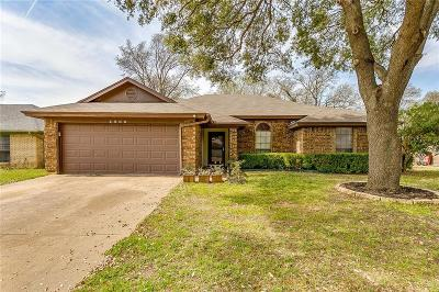 Euless Single Family Home Active Option Contract: 2509 Bayberry Lane