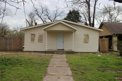 Dallas Single Family Home For Sale: 2618 Southland Street