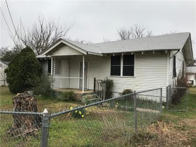 Mineral Wells TX Single Family Home For Sale: $41,000