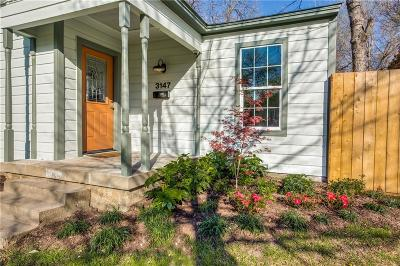 Dallas Single Family Home For Sale: 3147 Hedgerow Drive