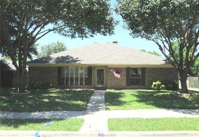 Rowlett Single Family Home For Sale: 7705 Swiss Way