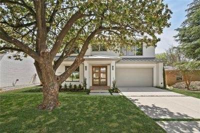 Dallas Single Family Home For Sale: 4060 Beechwood Lane