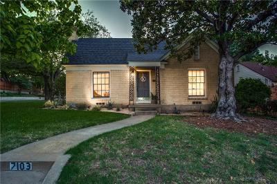Dallas Single Family Home For Sale: 7103 Vivian Avenue