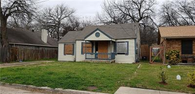 Dallas Single Family Home For Sale: 1411 Owega Avenue