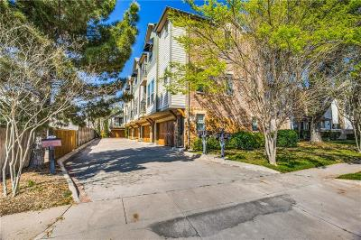 Dallas Townhouse Active Option Contract: 6121 Oram Street #C