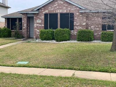 Wylie Single Family Home For Sale: 1618 Pheasant Creek Drive