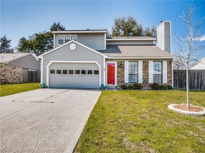 Grapevine Single Family Home Active Contingent: 1037 Cable Creek Drive
