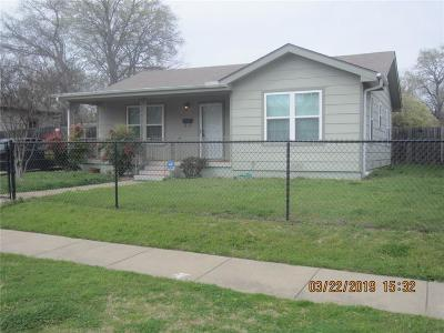 Fort Worth Single Family Home For Sale: 6751 Church Street