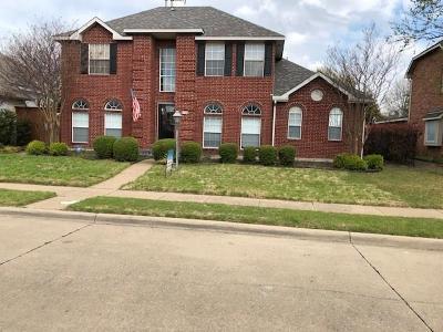 Allen Single Family Home For Sale: 1009 Rockefeller Lane