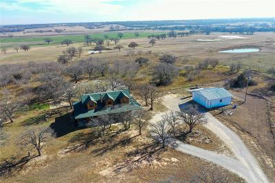 Archer County, Baylor County, Clay County, Jack County, Throckmorton County, Wichita County, Wise County Single Family Home For Sale: 1638 County Road 3381