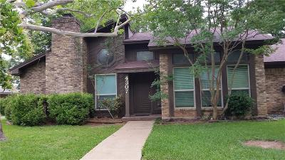 Arlington Single Family Home For Sale: 4307 Willow Bend Drive