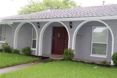 Mesquite Single Family Home For Sale: 2713 Monticello Drive