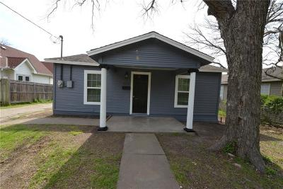 Waxahachie Single Family Home For Sale: 813 W Jefferson Street