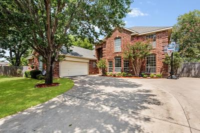 Arlington Single Family Home Active Option Contract: 6420 Wilderness Court