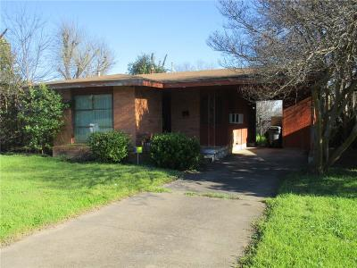 Dallas Single Family Home For Sale: 1326 Adelaide Drive