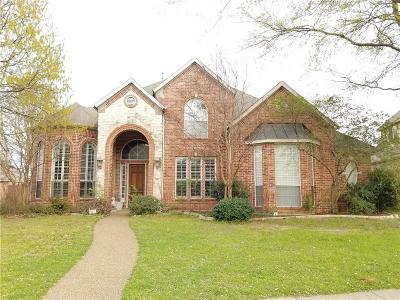 Allen Single Family Home For Sale: 600 Granbury Drive