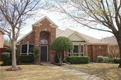 Allen Single Family Home For Sale: 908 Pin Oak Lane